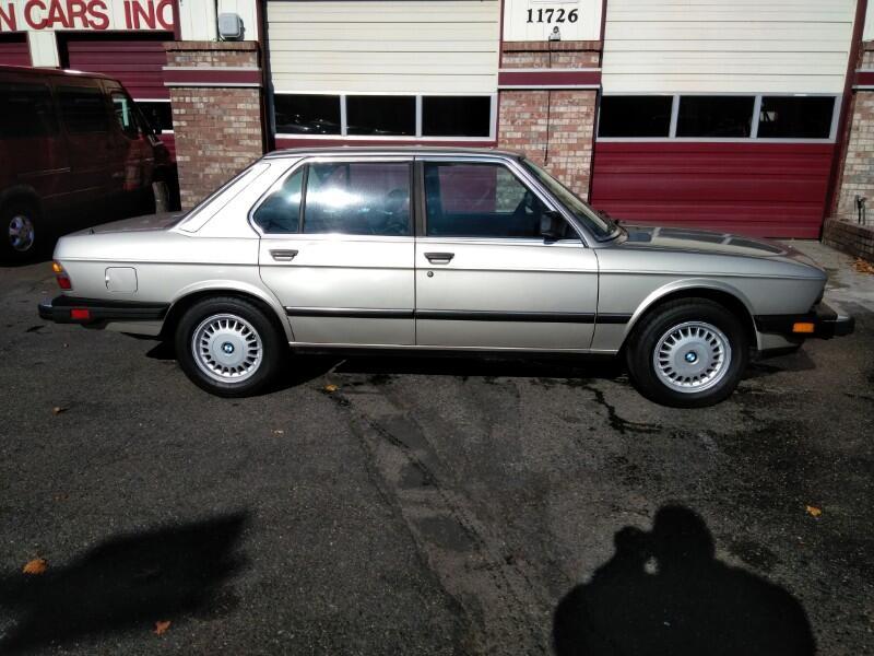 1988 BMW 5-Series 528E