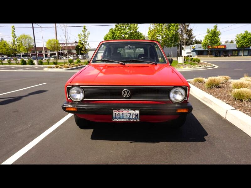 1980 Volkswagen Rabbit 2-Door