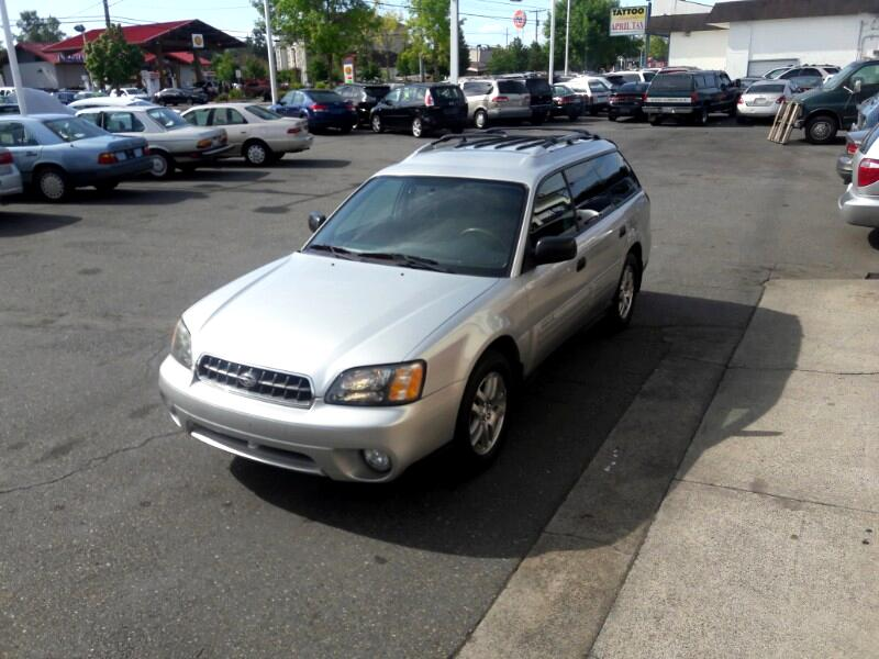 2004 Subaru Outback Wagon w/All-weather Package