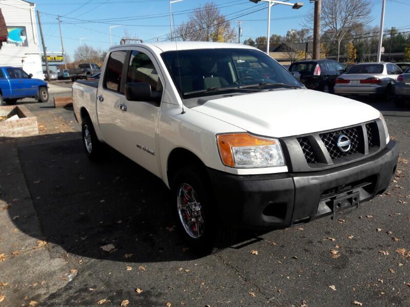 2008 Nissan Titan LE Crew Cab 2WD SWB
