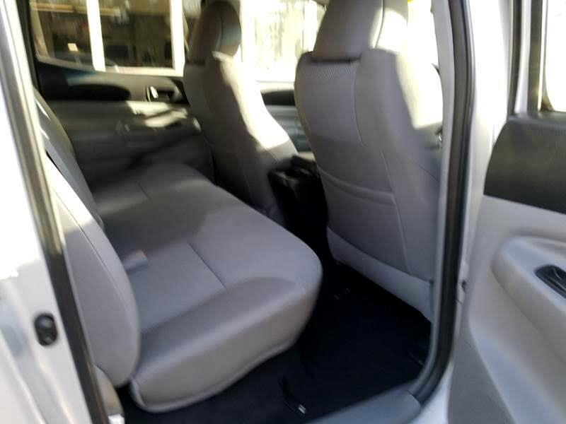 2012 Toyota Tacoma Double Cab Long Bed V6 Auto 4WD