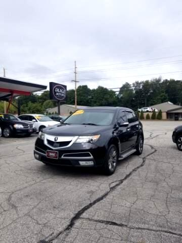 2011 Acura MDX 6-Spd AT w/Advance and Ent. Pkg
