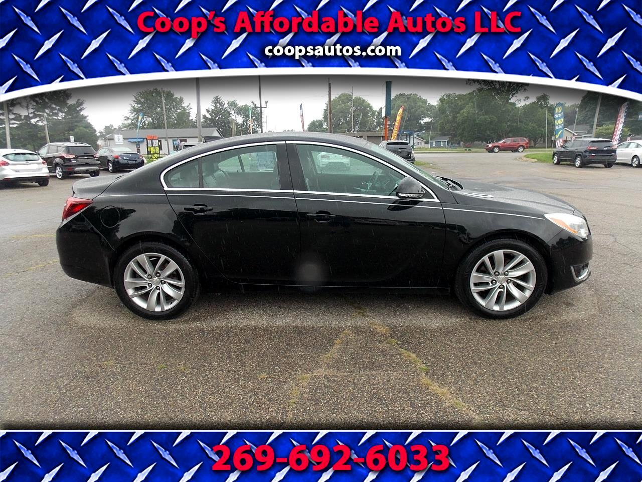 Buick Regal 4dr Sdn Turbo FWD 2015