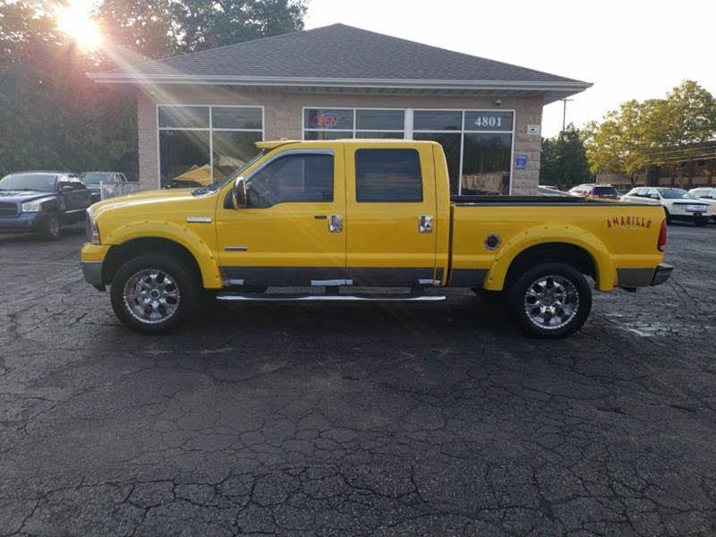 2006 Ford F-250 SD Amarillo Crew Cab Short Bed 4WD