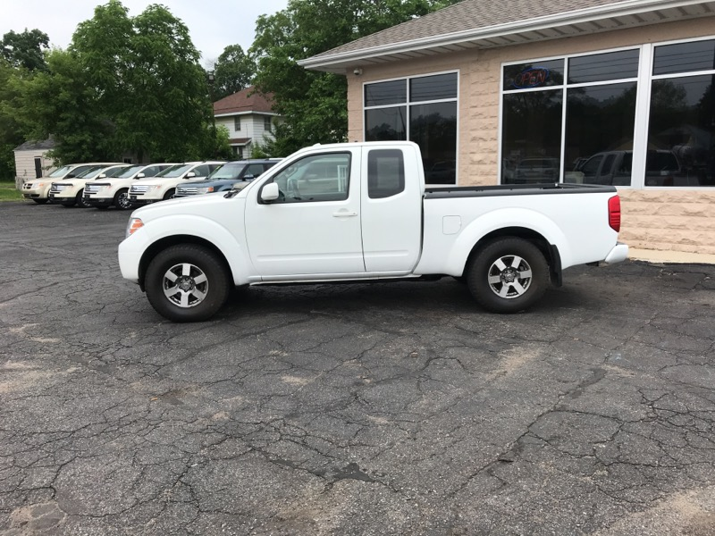 2013 Nissan Frontier 4WD King Cab Auto PRO-4X