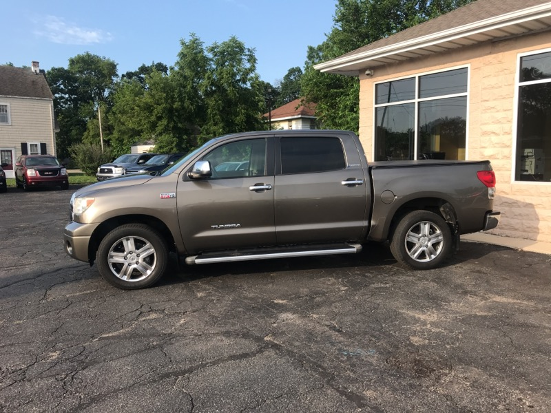 2008 Toyota Tundra 2WD Truck CrewMax 5.7L V8 6-Spd AT LTD (GS)