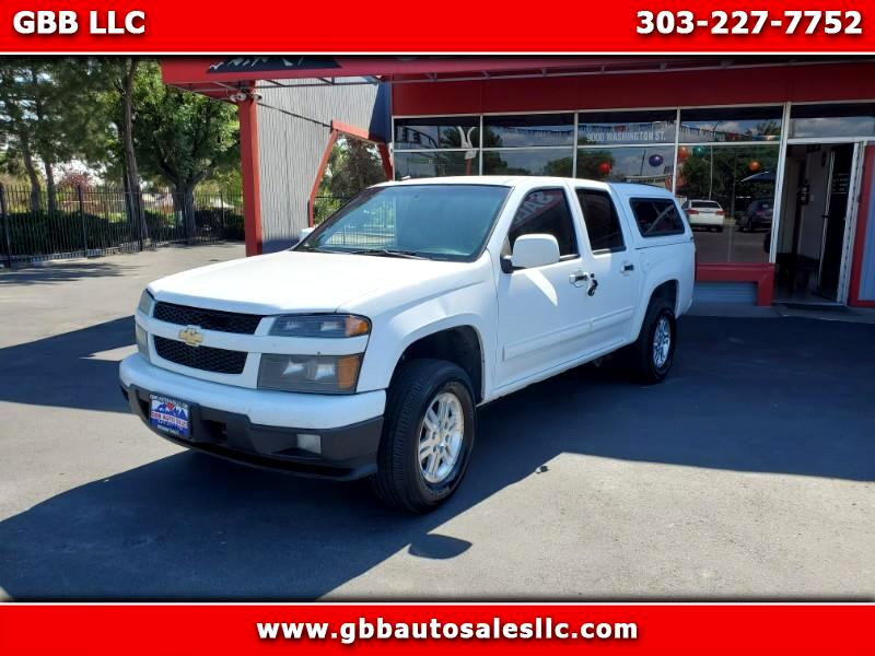 Chevrolet Colorado 1LT Crew Cab 4WD 2011