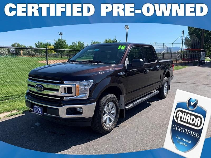 2018 Ford F-150 XLT SuperCrew 5.5-ft. Bed 2WD