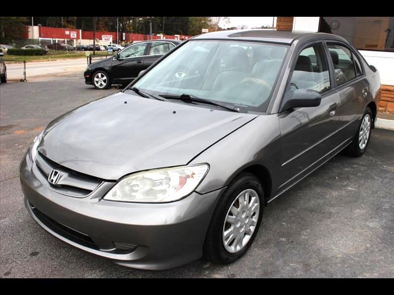 Honda Civic LX Sedan AT 2004