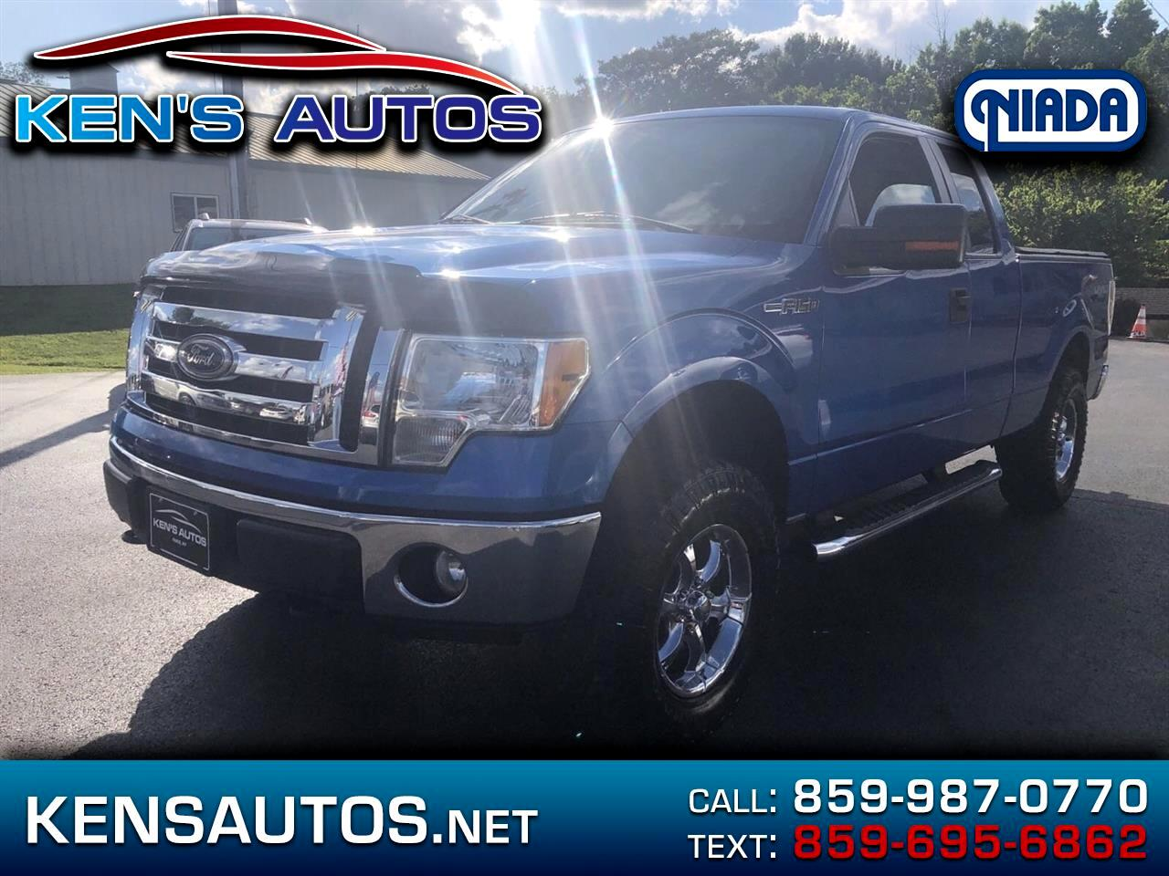 2010 Ford F150 XLT SuperCab 8-ft. Bed 4WD