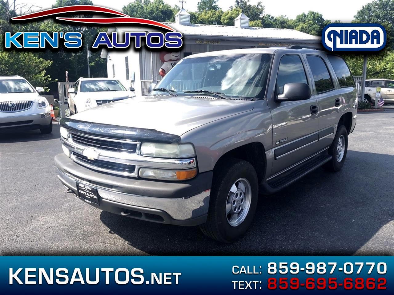 2003 Chevrolet Trucks Tahoe 4WD