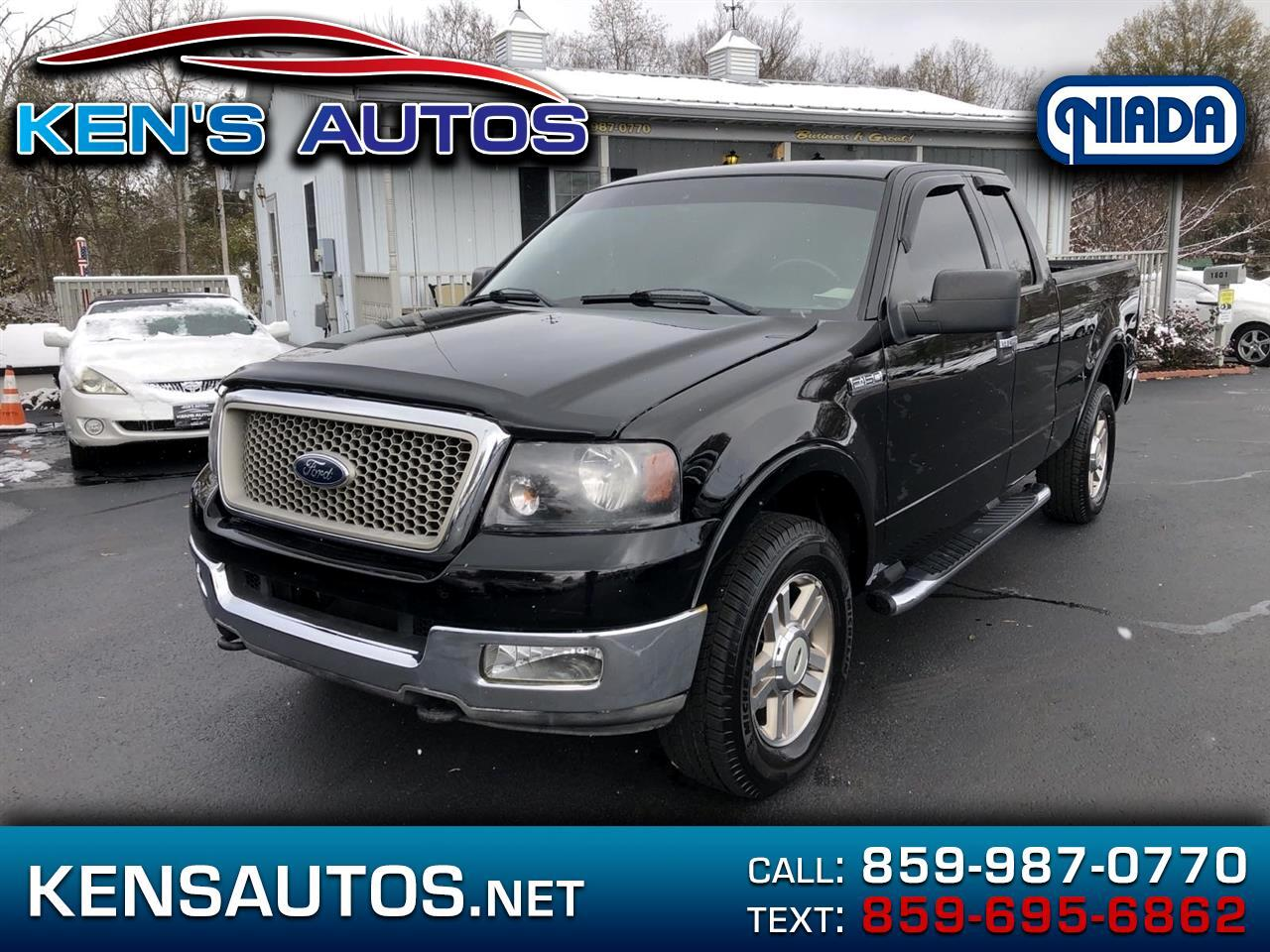 Ford F150 Lariat SuperCab 4WD 2004