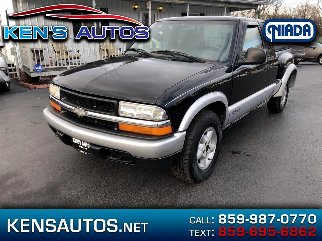 Chevrolet S10 Pickup LS Ext. Cab 4WD 1998