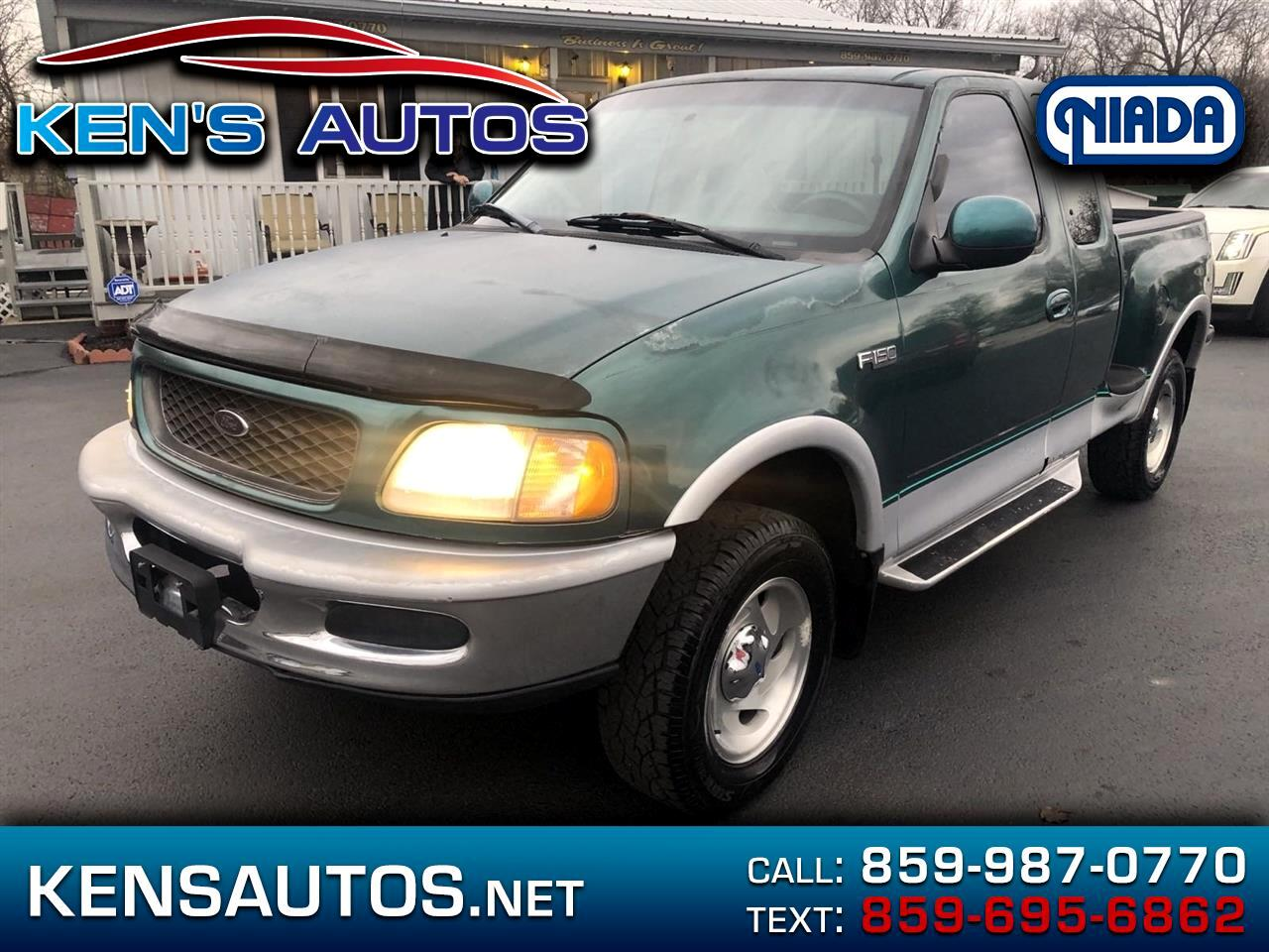 Ford F-150 SuperCab Flareside Short Bed 4WD 1997