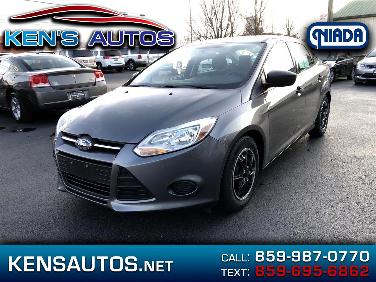 Ford Focus S Sedan 2014