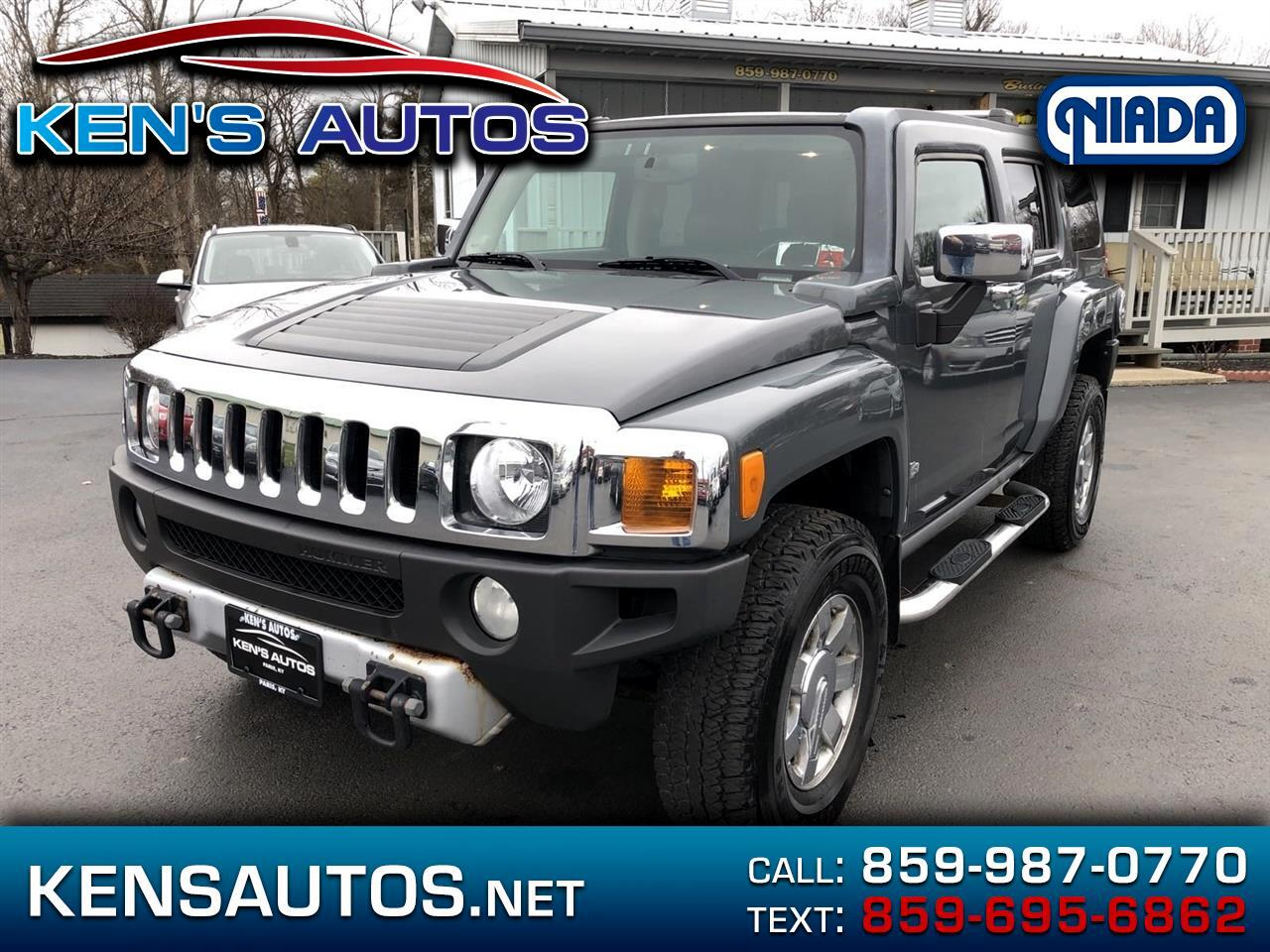 HUMMER H3 4WD 4dr H3T Alpha Leather 2009