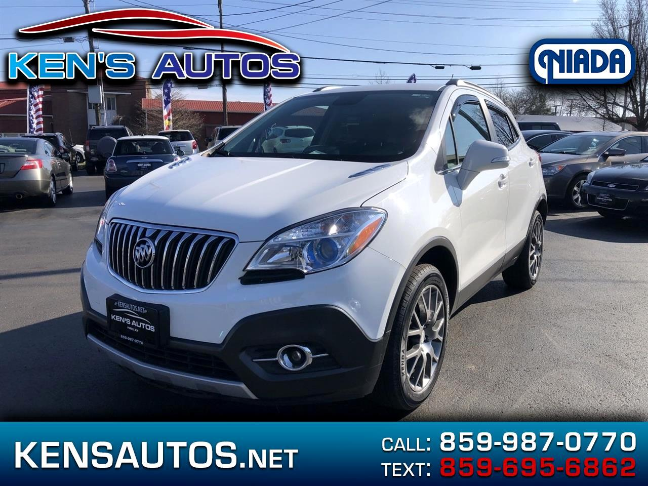 Buick Encore Sport Touring AWD 2016