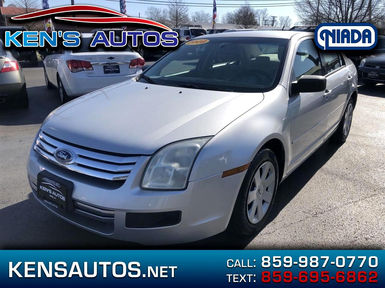 Ford Fusion I4 S 2009