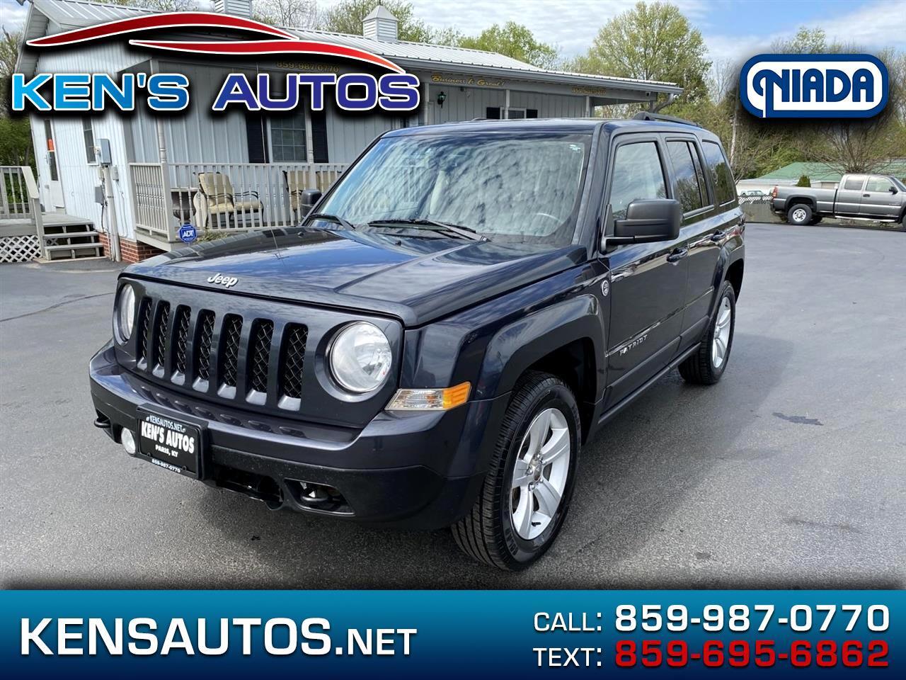 Jeep Patriot Latitude 4WD 2014
