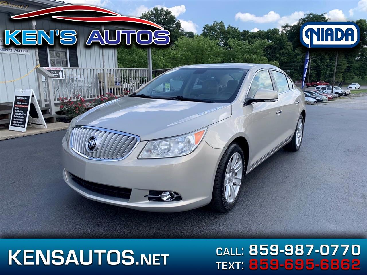 Buick LaCrosse Premium Package 1, w/Leather AWD 2012