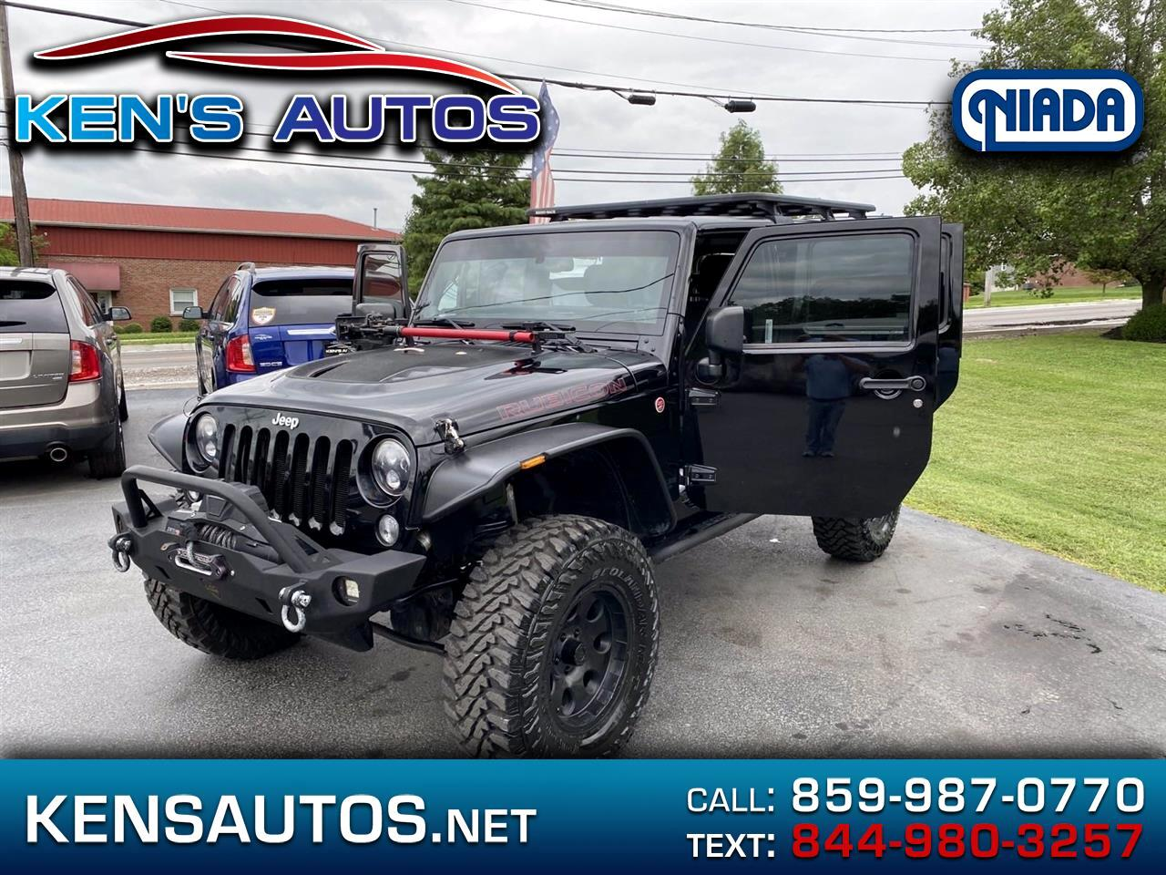 Jeep Wrangler Unlimited 4WD 4dr Rubicon X 2014