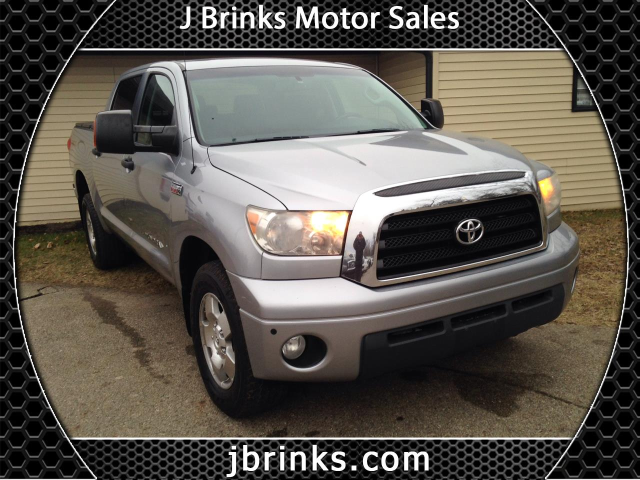 2009 Toyota Tundra 4WD Truck CrewMax 5.7L V8 6-Spd AT (Natl)