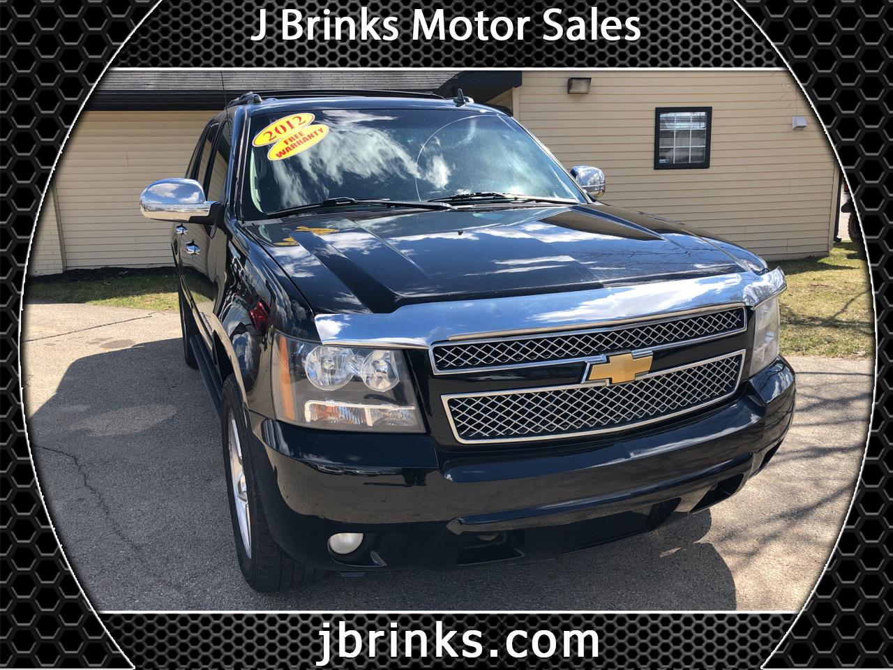 2012 Chevrolet Avalanche 4WD Crew Cab LT