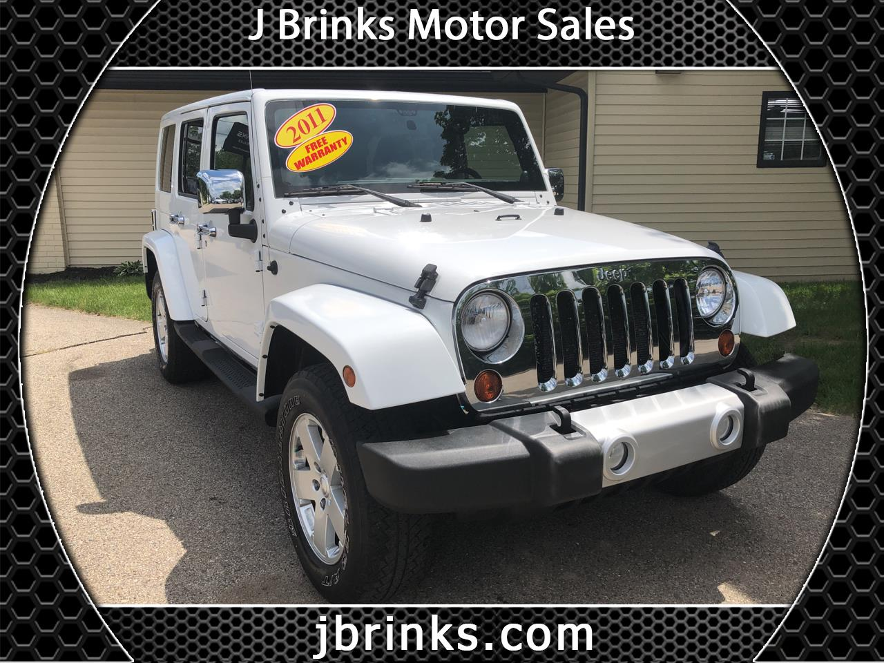 2011 Jeep Wrangler Unlimited 4WD 4dr Sahara