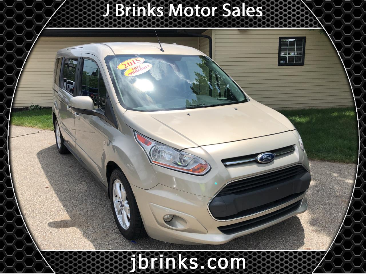 2015 Ford Transit Connect Wagon 4dr Wgn LWB Titanium w/Rear Liftgate