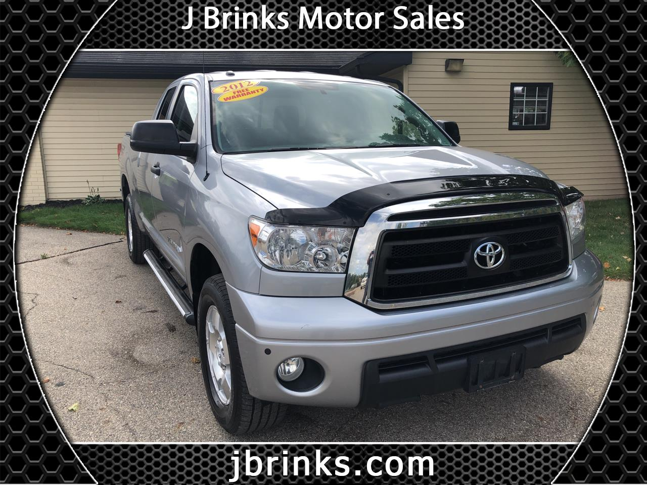 2012 Toyota Tundra 4WD Truck Double Cab 4.6L V8 6-Spd AT (Natl)