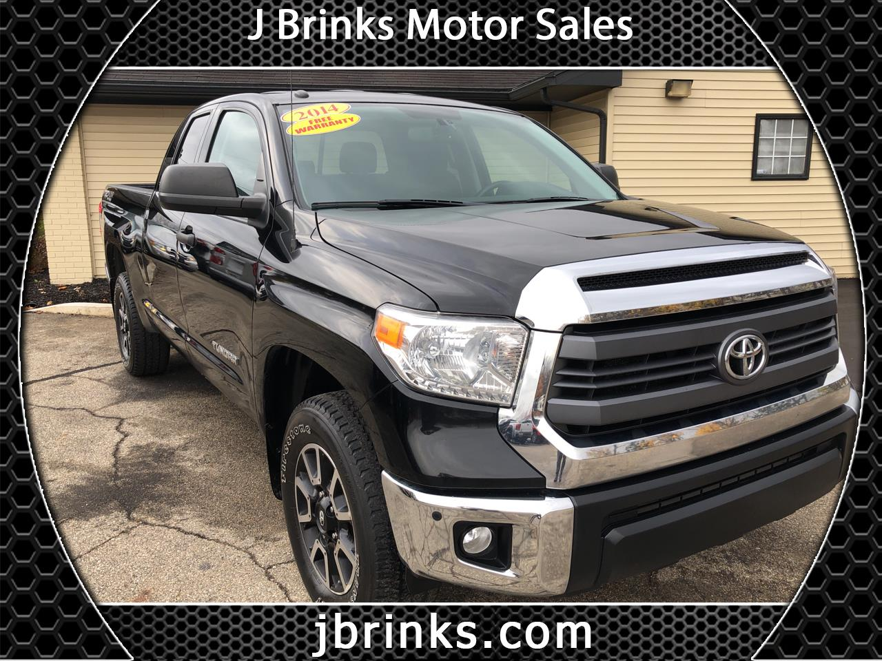 2014 Toyota Tundra 4WD Truck Double Cab 4.6L V8 6-Spd AT SR (Natl)
