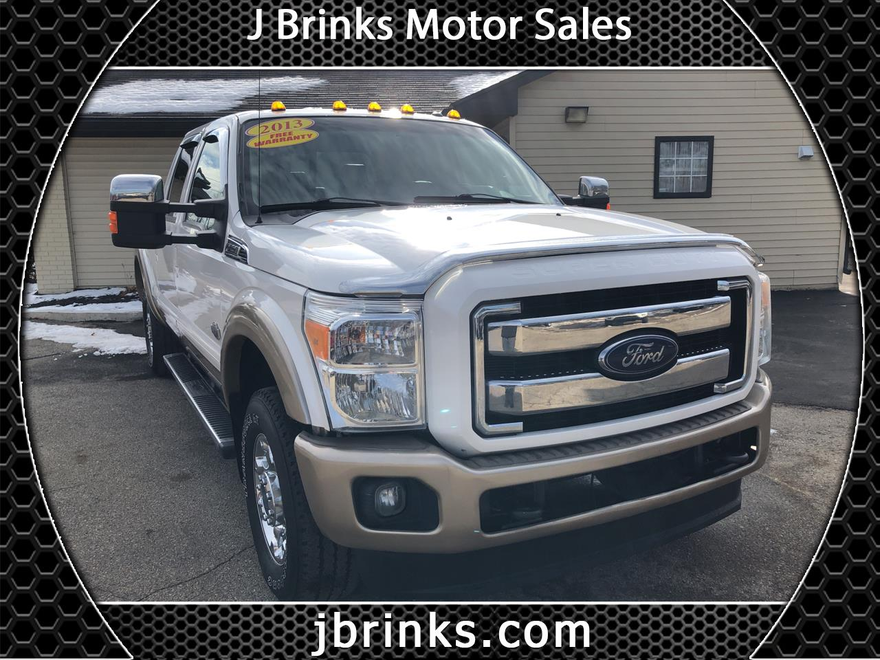 2013 Ford Super Duty F-250 SRW King Ranch 4WD Crew Cab 6.75' Box