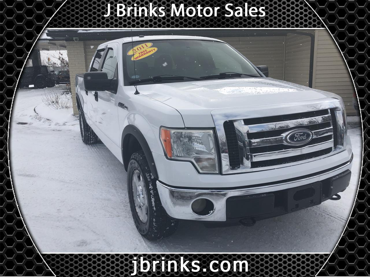 "Ford F-150 4WD SuperCrew 145"" XLT 2011"