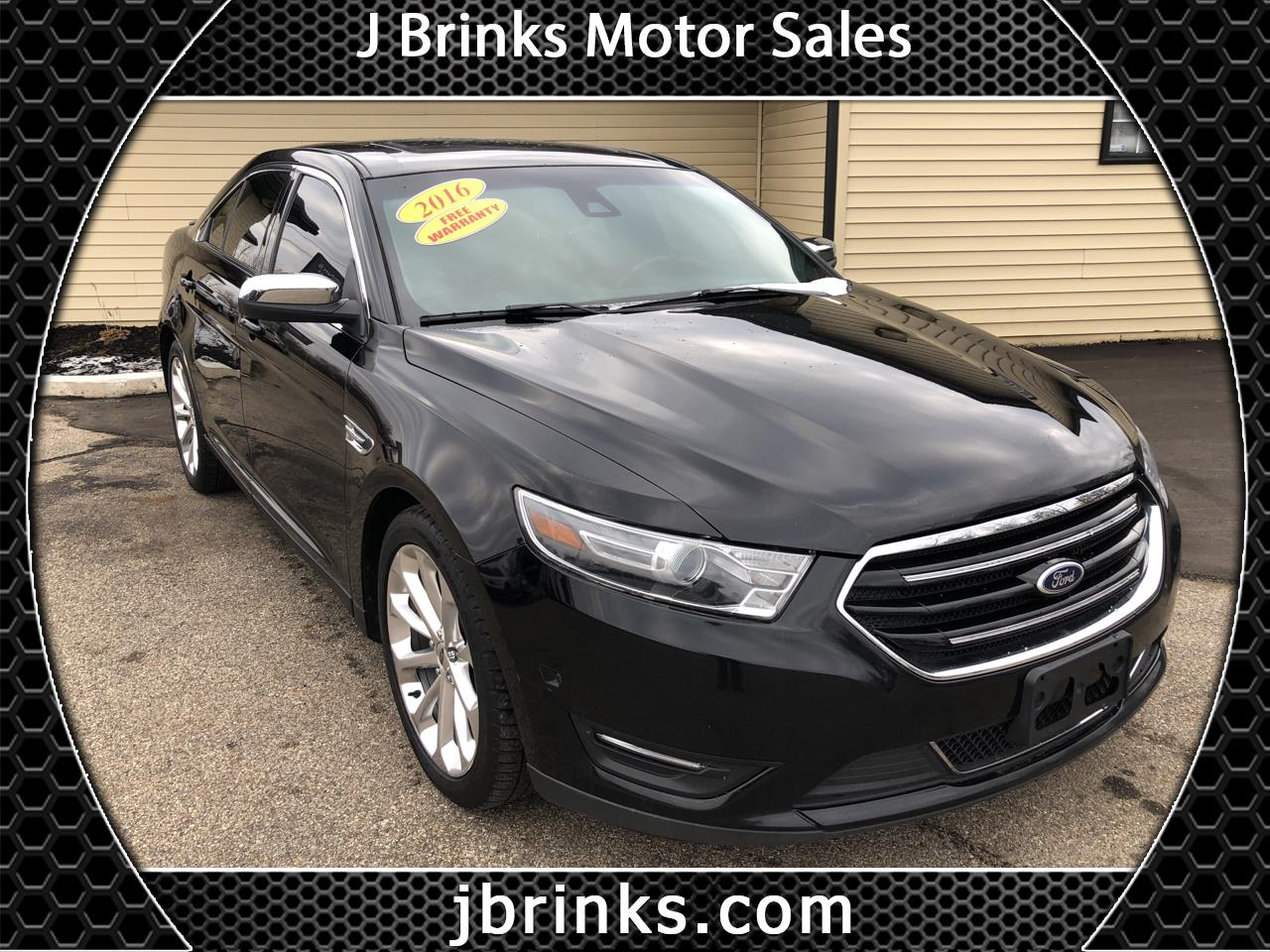 Ford Taurus 4dr Sdn Limited AWD 2016