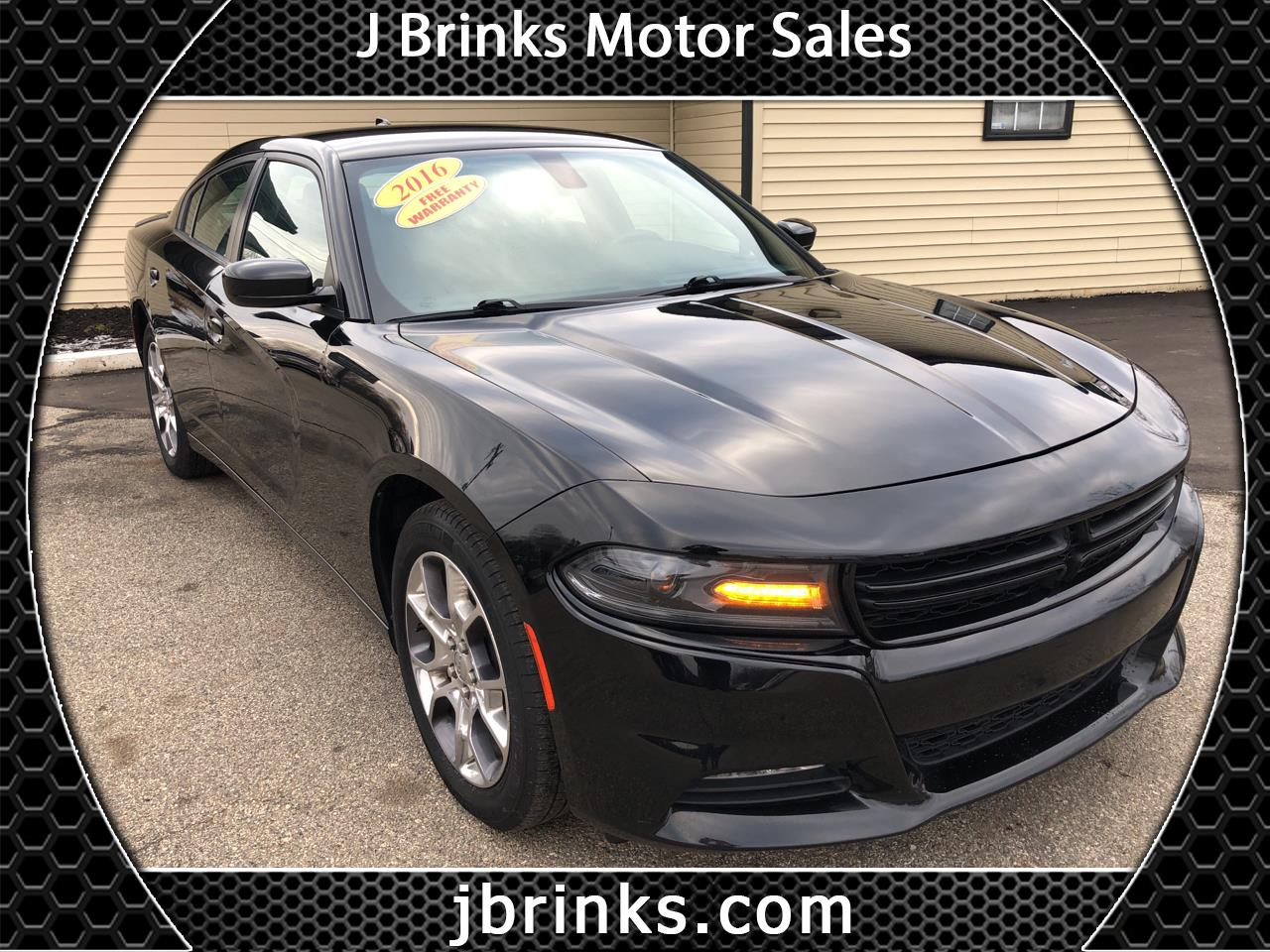 2016 Dodge Charger 4dr Sdn SXT AWD