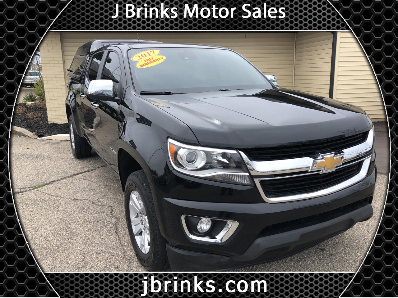 "Chevrolet Colorado 4WD Crew Cab 140.5"" LT 2017"