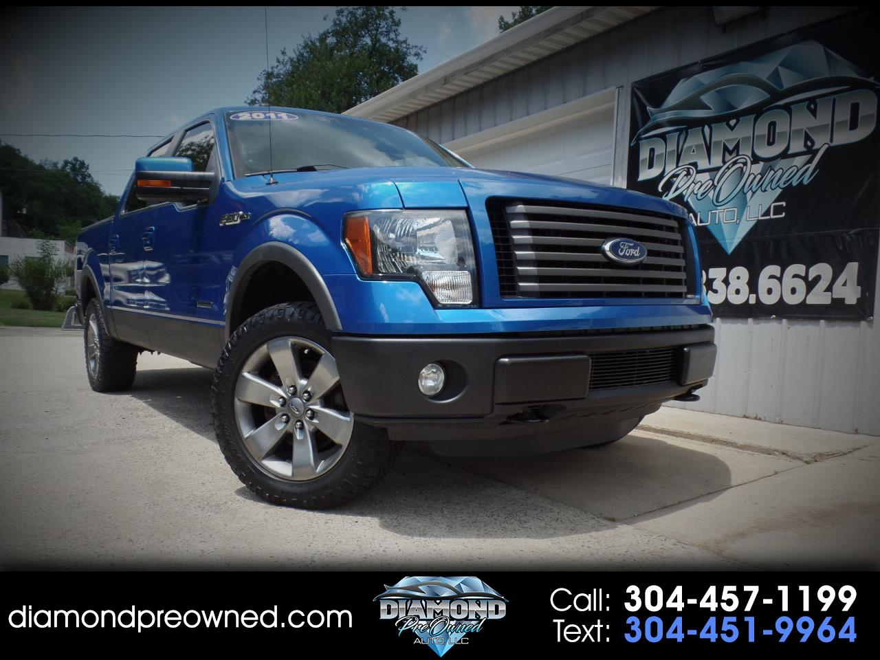 Ford F-150 XLT 4WD SuperCab 6.5' Box 2011