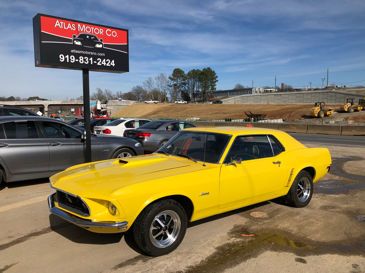 1969 Ford Mustang 2dr Coupe