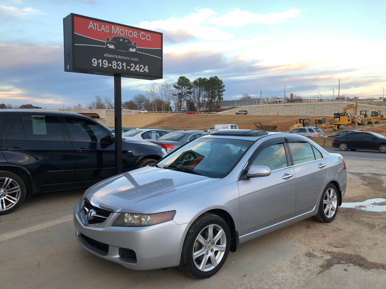 2005 Acura TSX 5-speed AT