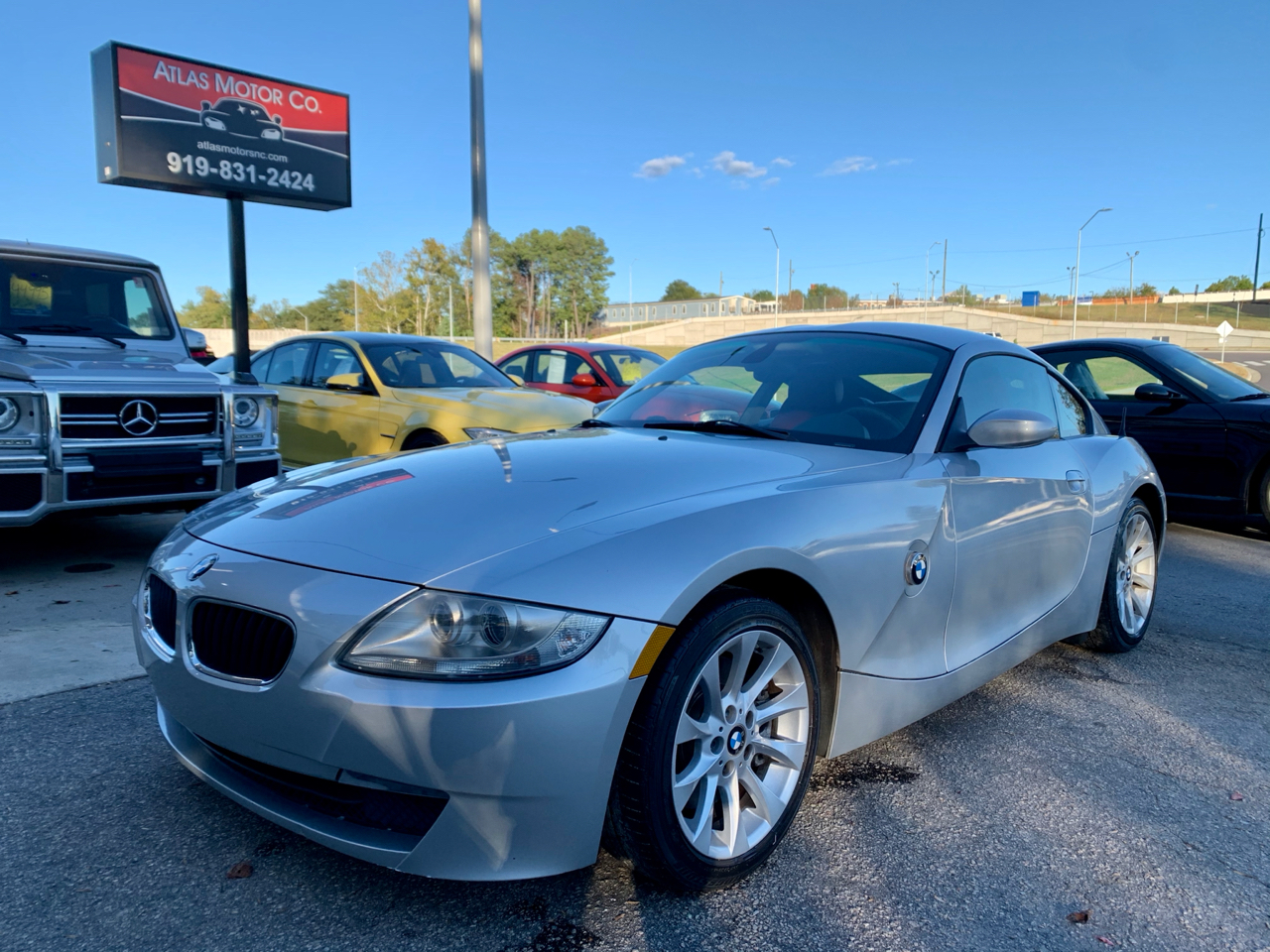 BMW Z4 2dr Coupe 3.0si 2007