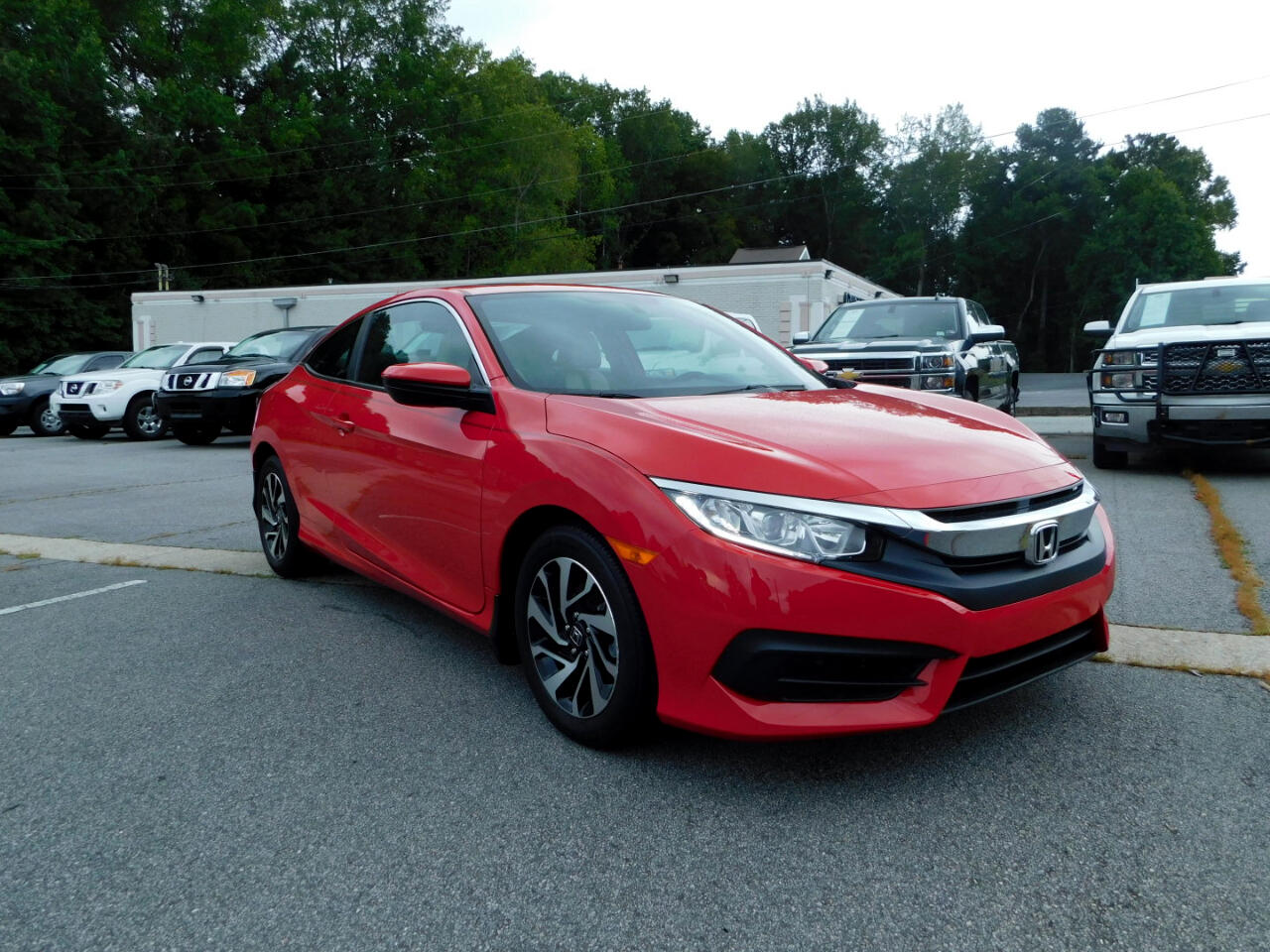 2016 Honda Civic LX-P Coupe CVT