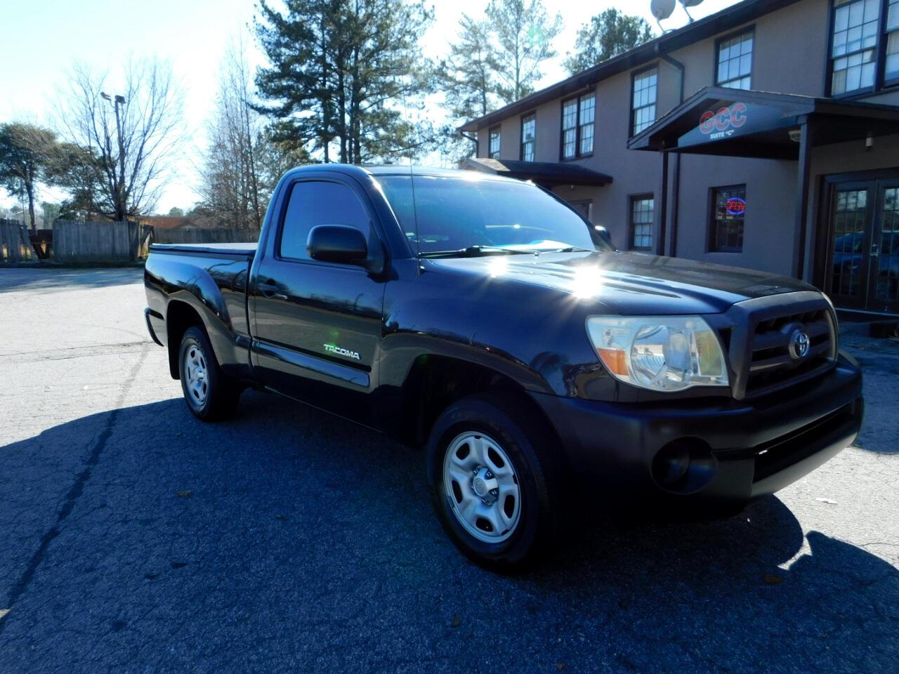 2010 Toyota Tacoma Regular Cab 2WD
