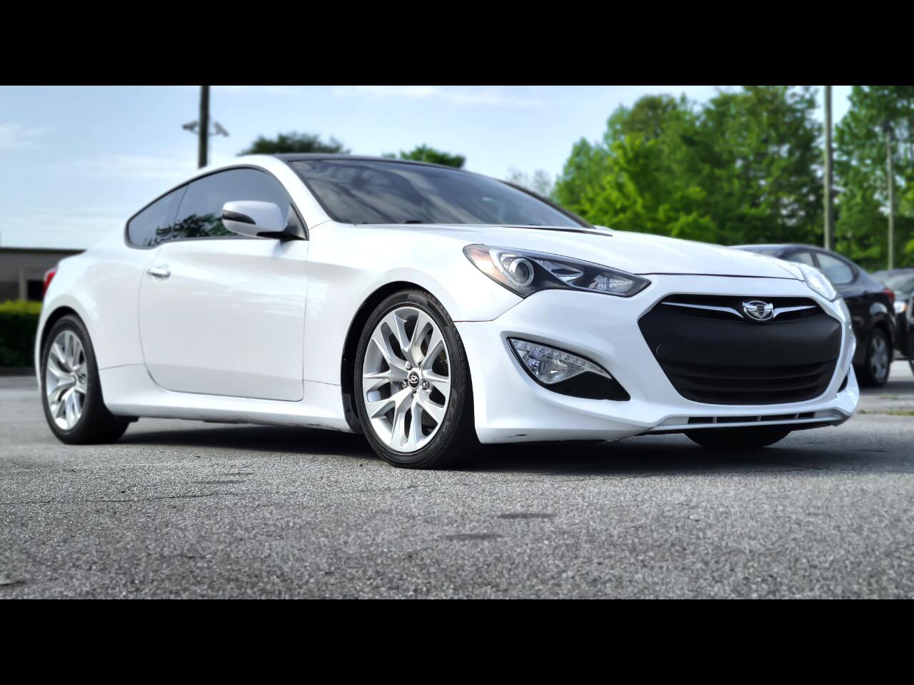 Hyundai Genesis Coupe 3.8 8AT 2015