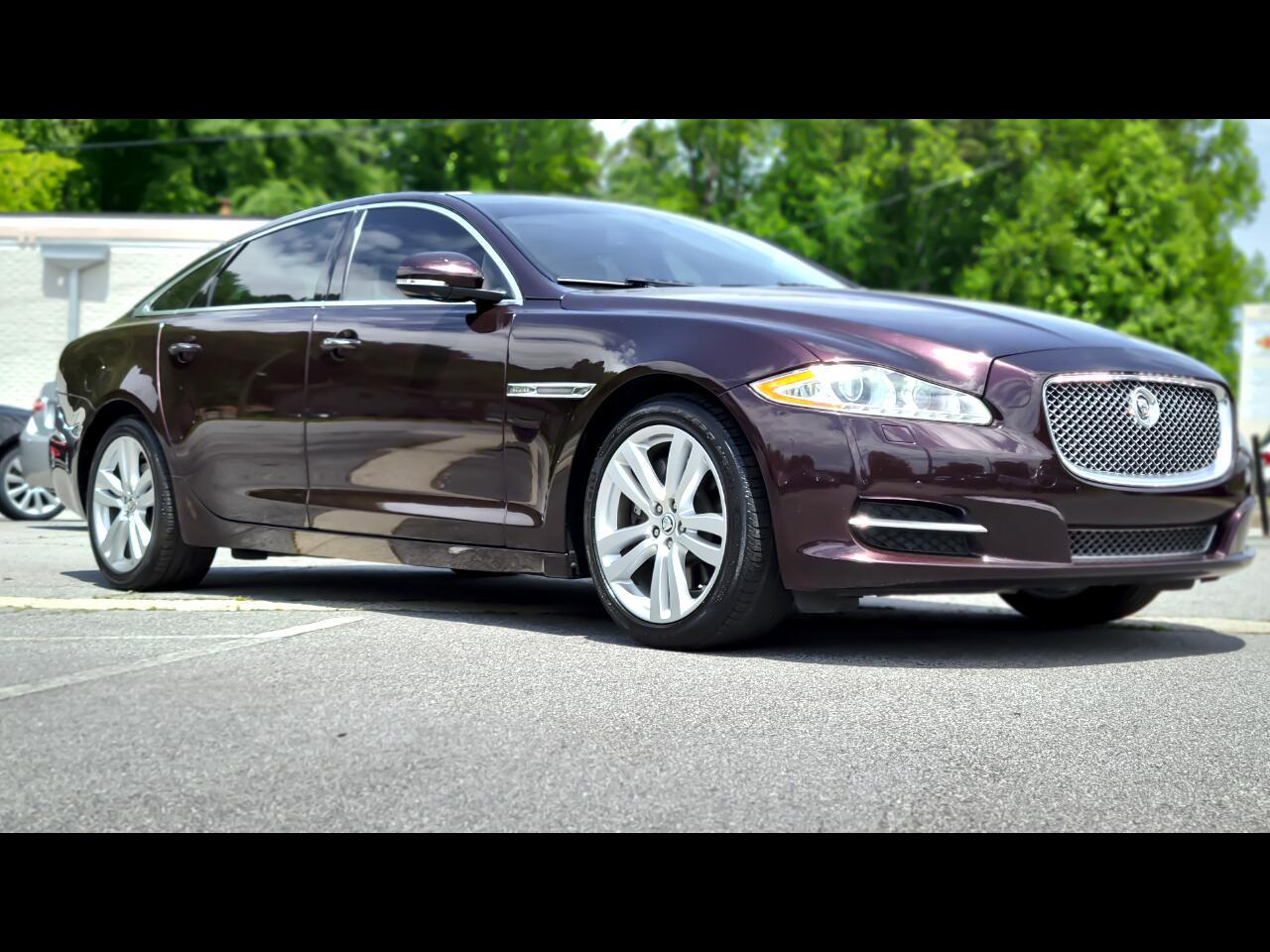 Jaguar XJ-Series XJL Supercharged 2011