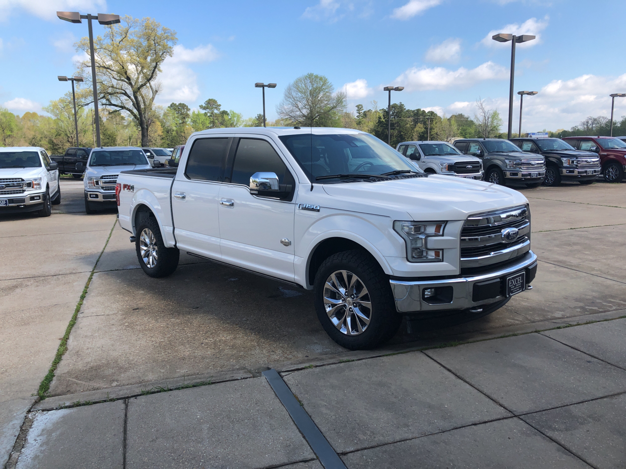 2017 Ford F-150 King Ranch SuperCrew Short Bed 4WD