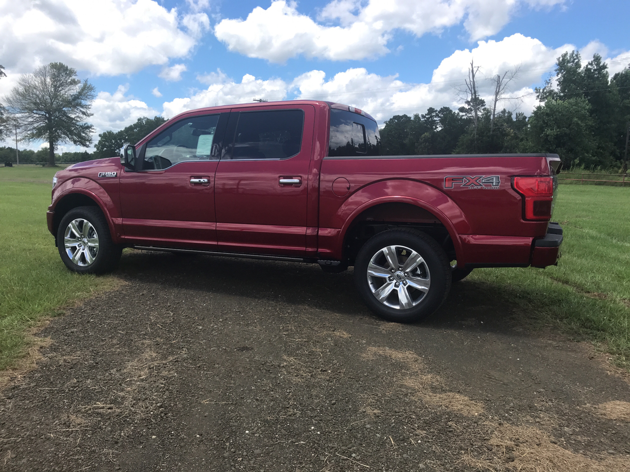 Ford F-150 Platinum 4WD SuperCrew 5.5' Box 2019