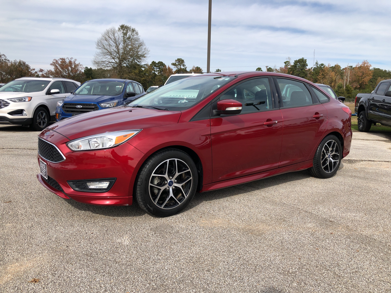 2015 Ford Focus 4dr Sdn SE