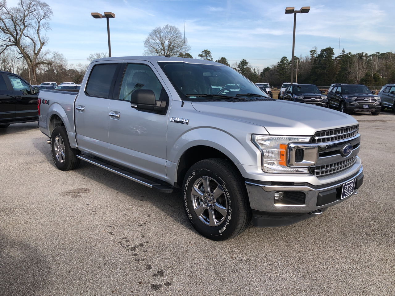 "Ford F-150 4WD SuperCrew 145"" FX4 2018"