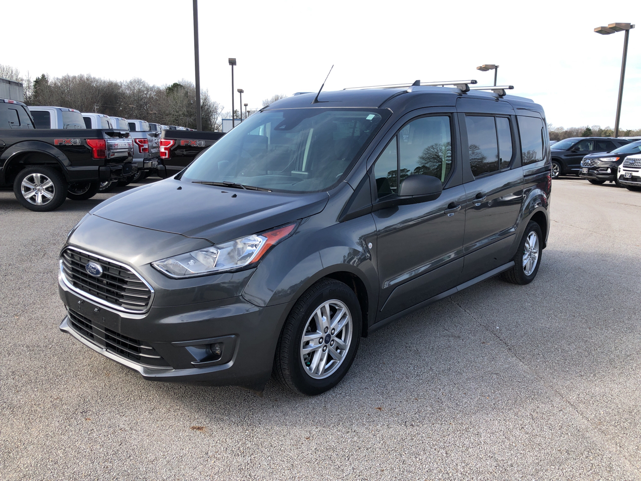 Ford Transit Connect Wagon XLT LWB w/Rear Symmetrical Doors 2019