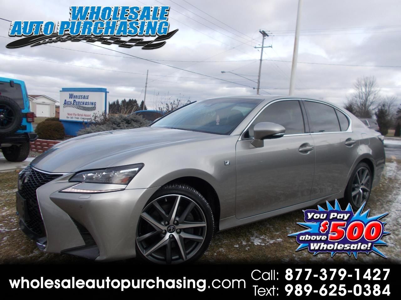 2017 Lexus GS AWD FSPORT